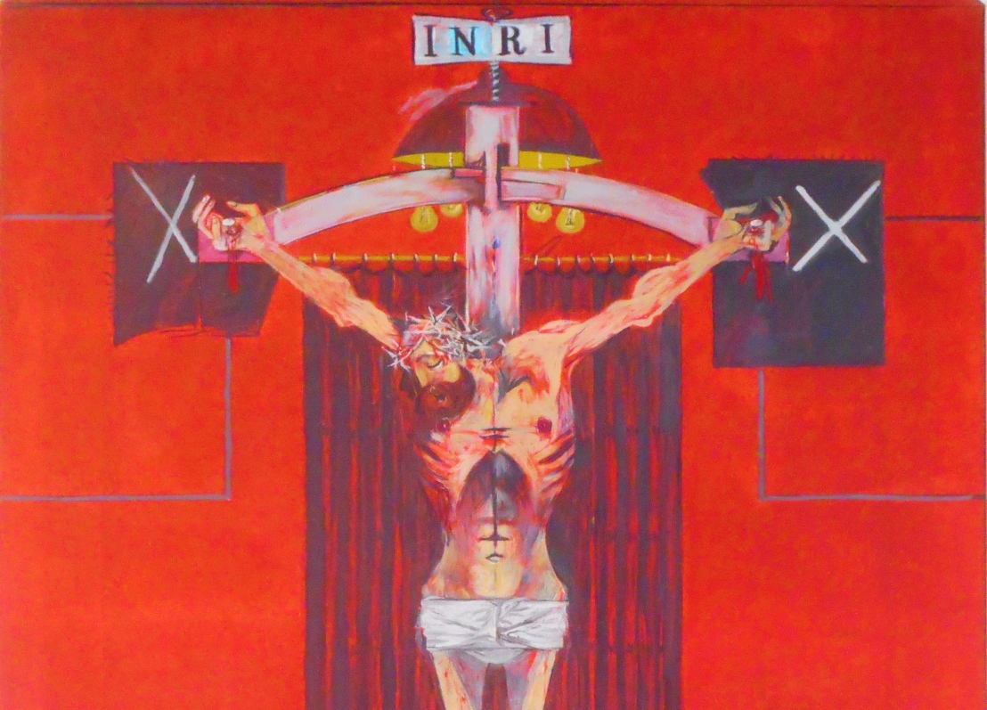 Christ dies upon the cross (John 19:28-30)