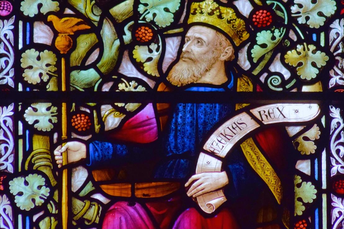 King Hezekiah's recovery (Isaiah38:1-20)