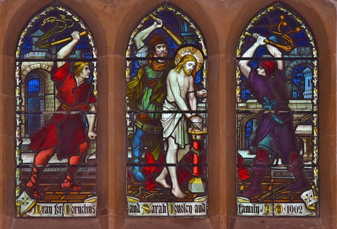 The Scourging at the Pillar (John19:1-3)