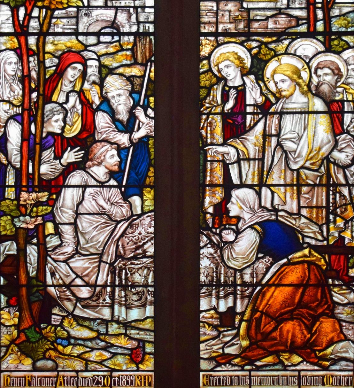 Christ raises a widow's son (Luke7:11-17)
