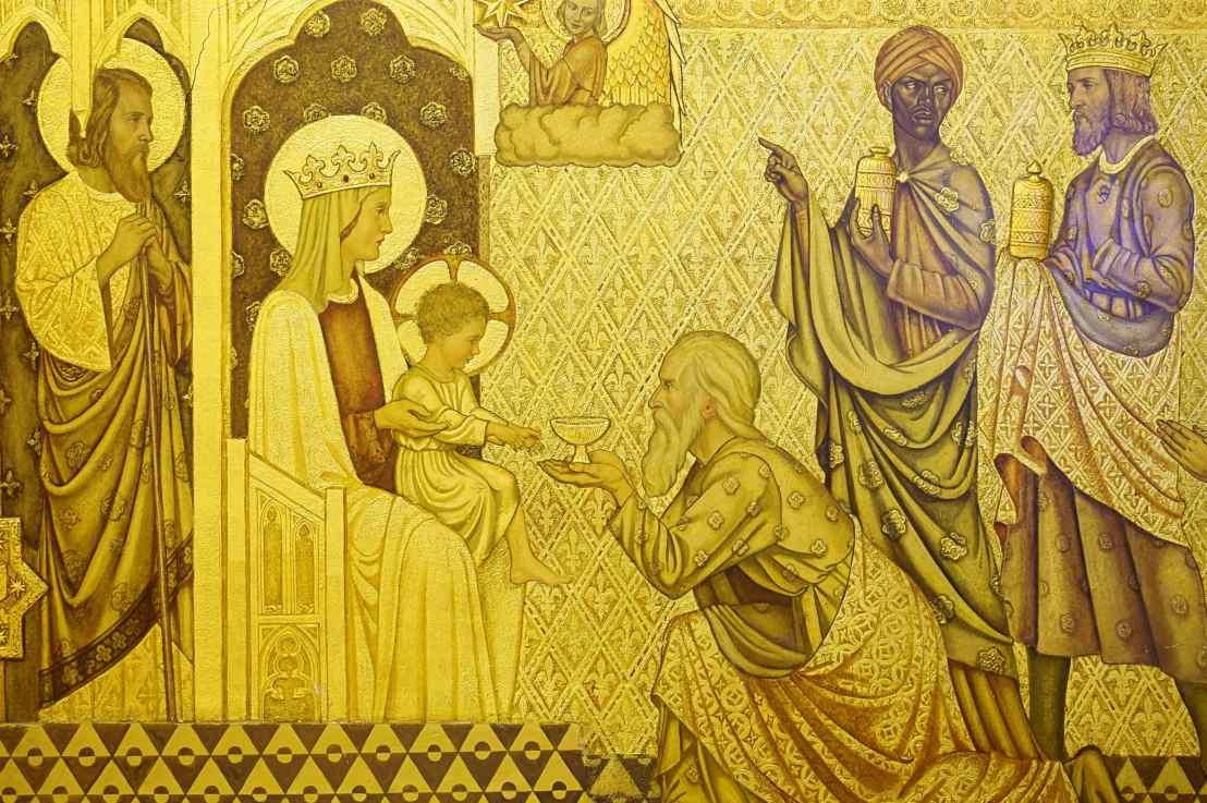 The Adoration of the Magi (Matthew2:1-12)