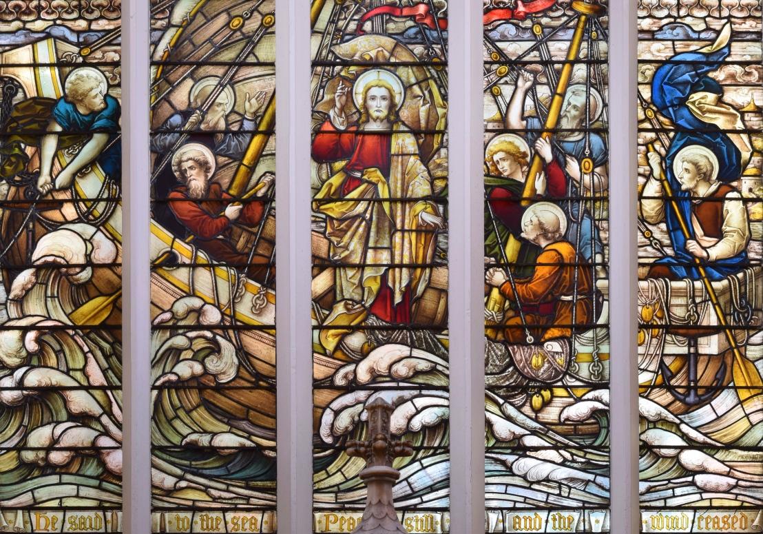 Christ stills the Tempest (Mark4:35-41)