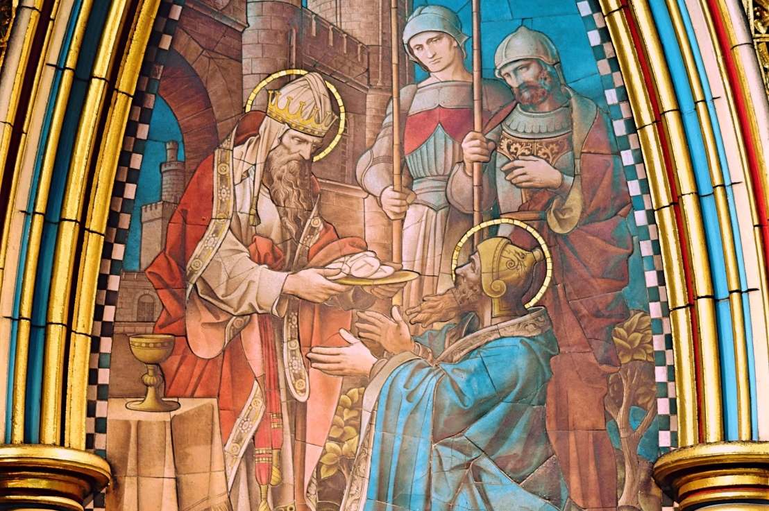 Abram meets Melchizedek (Genesis14:1-24)