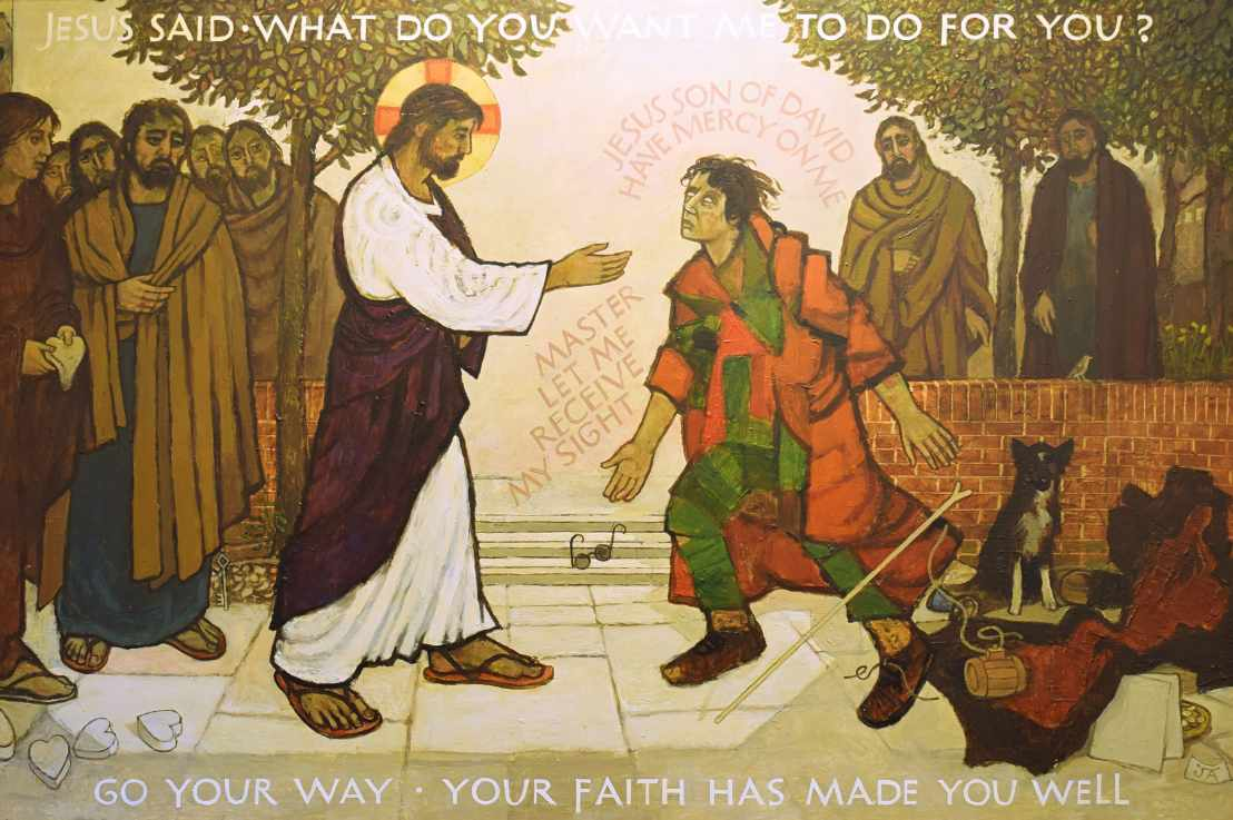 The Healing of Bartimaeus (Mark 10:46-52)