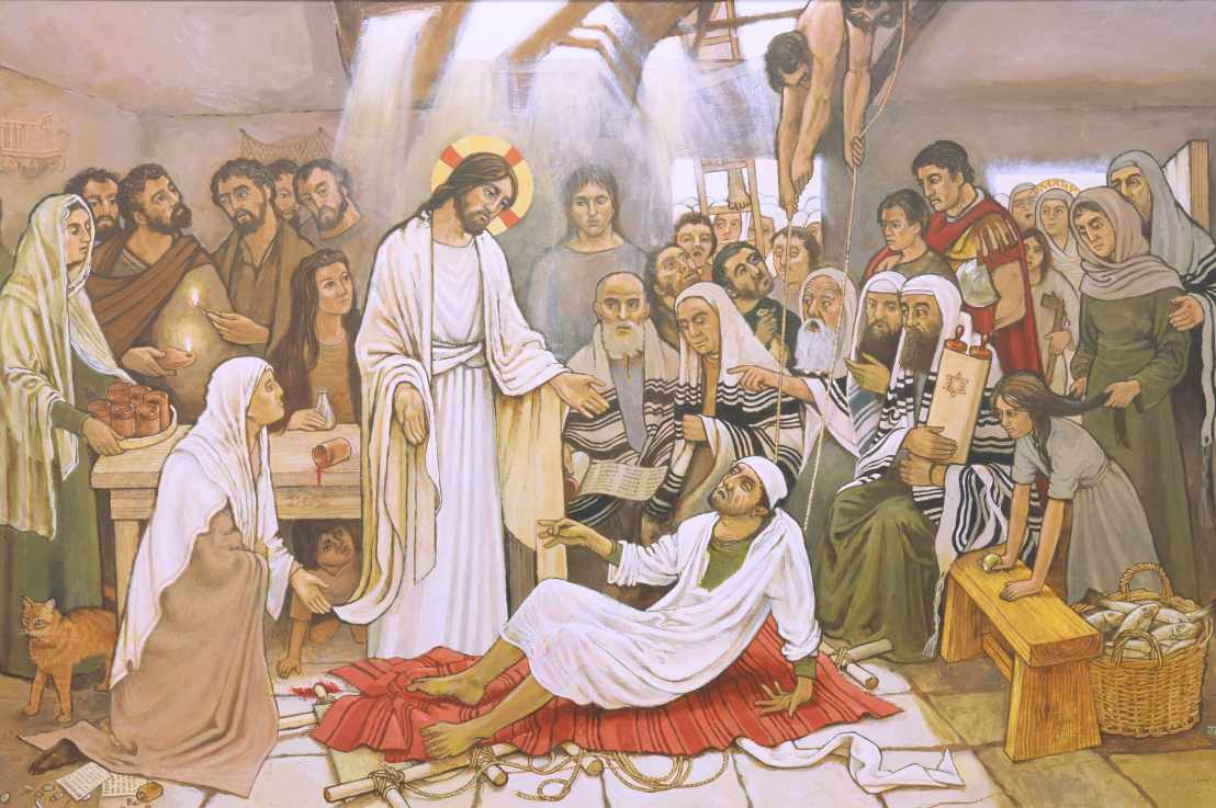 The Healing of the Paralysed Man (Luke 5:17-26)