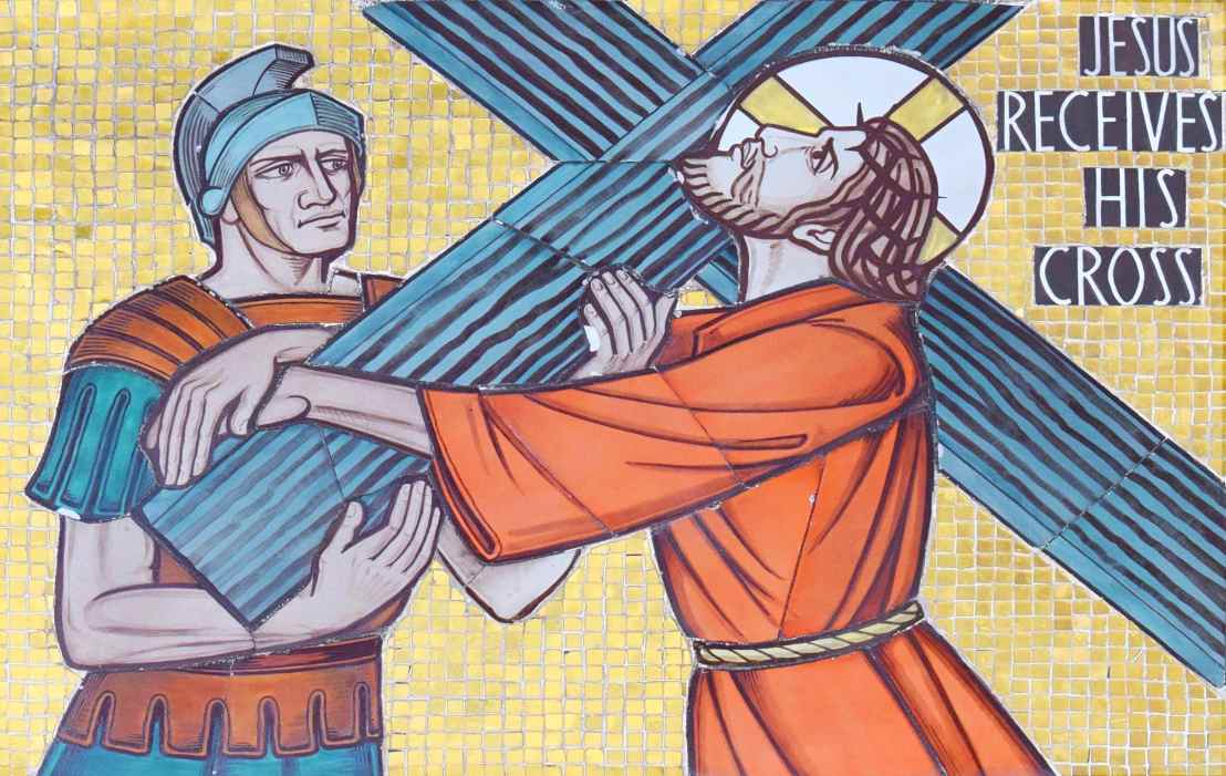 Jesus_Receives_His_Cross