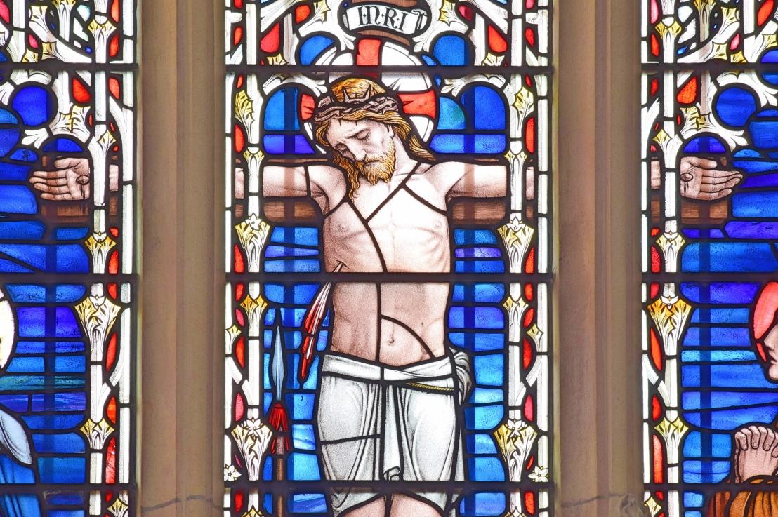 Christ-pierced-cross