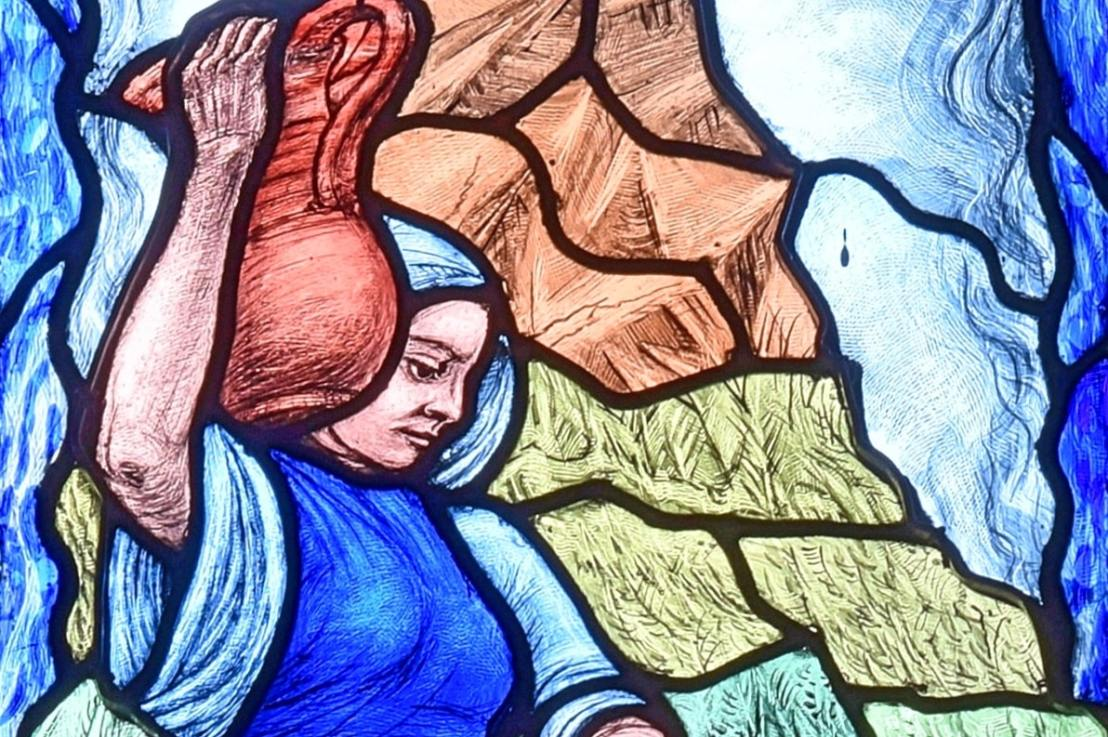 Christ meets the woman at the well (John4:1-42)